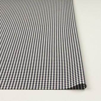 コットン×チェック(ブラック)×ブロード サムネイル3