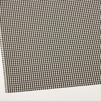 コットン×チェック(ブラック&エクリュ)×ブロード サムネイル2