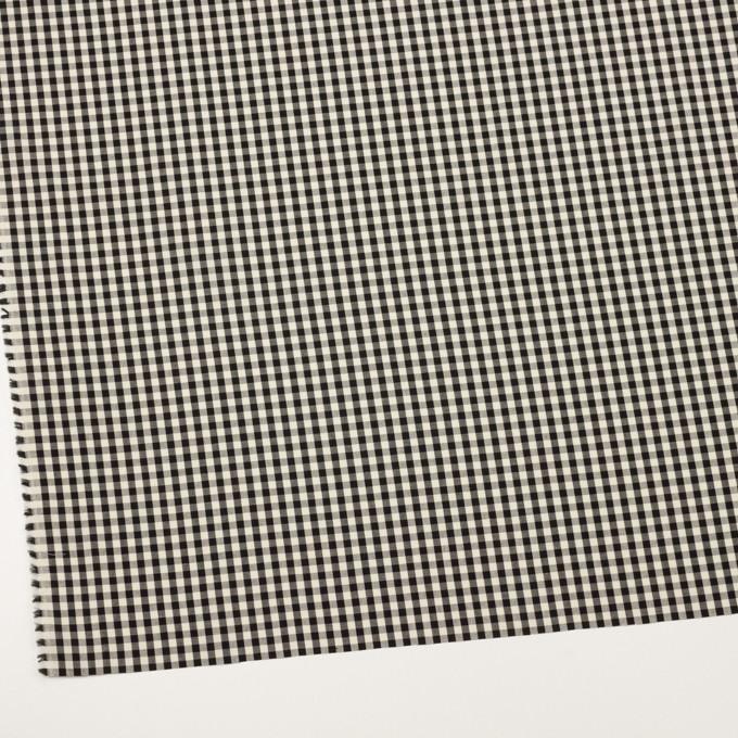 コットン×チェック(ブラック&エクリュ)×ブロード イメージ2
