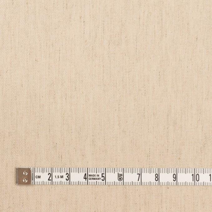 コットン&リネン混×無地(エクリュ)×サージストレッチ イメージ4