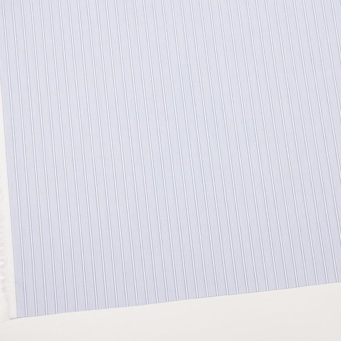 コットン×ストライプ(サックス)×ブロードジャガード イメージ2