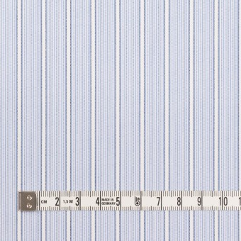 コットン×ストライプ(サックス)×ブロードジャガード サムネイル4