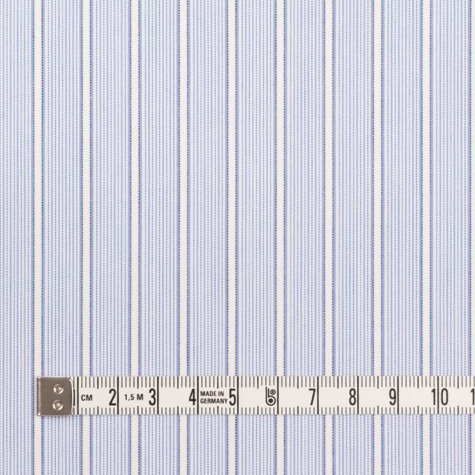 コットン×ストライプ(サックス)×ブロードジャガード イメージ4