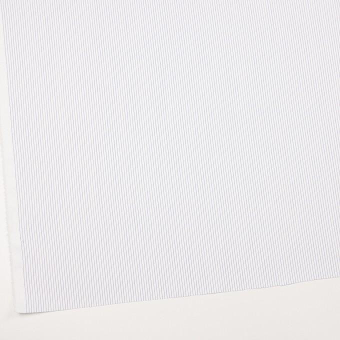 コットン&ポリエステル×ストライプ(ブルー)×ピケ イメージ2