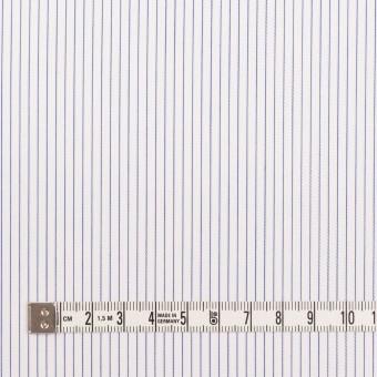 コットン&ポリエステル×ストライプ(ブルー)×ピケ サムネイル4