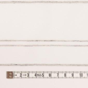 コットン×ボーダー(オフホワイト&グレー)×ブロードジャガード サムネイル4