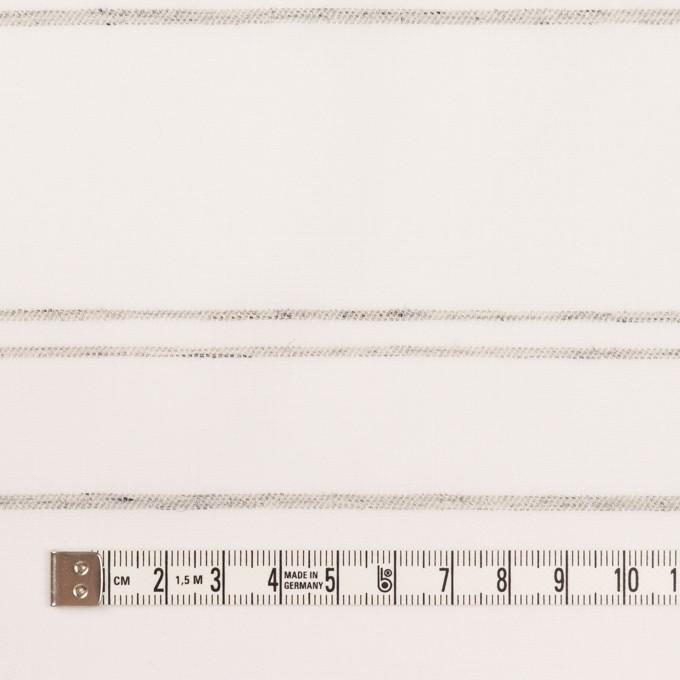 コットン×ボーダー(オフホワイト&グレー)×ブロードジャガード イメージ4