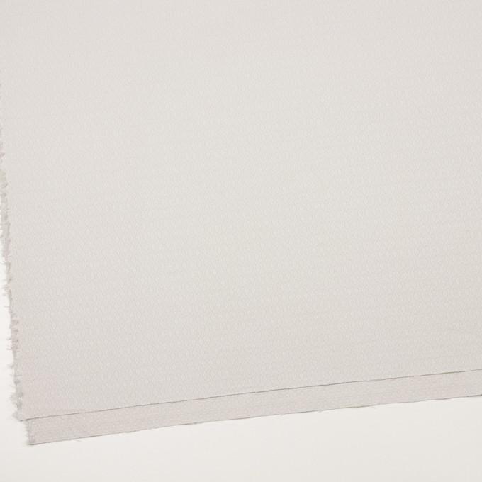 コットン&ポリウレタン×小紋(オイスターグレー)×ジャガード・ストレッチ イメージ2