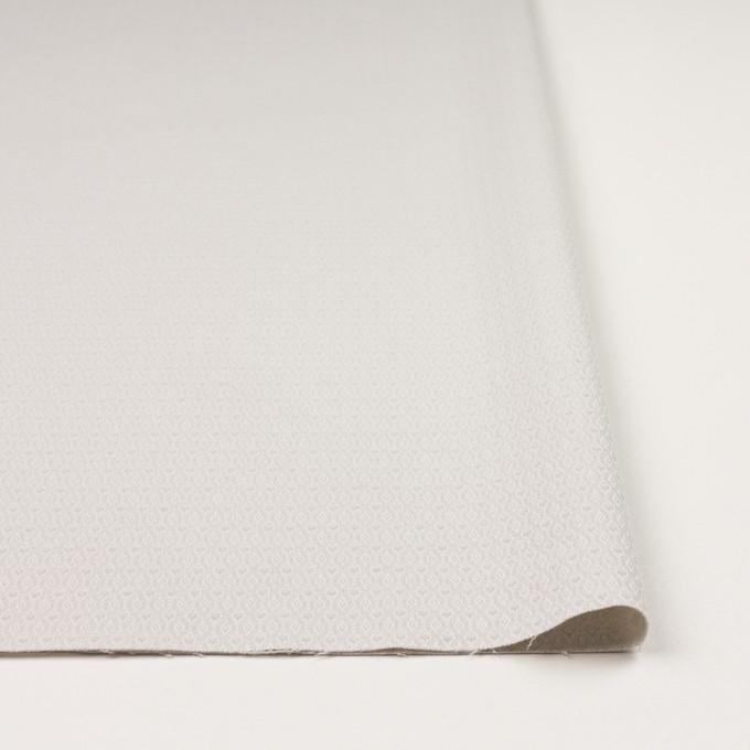 コットン&ポリウレタン×小紋(オイスターグレー)×ジャガード・ストレッチ イメージ3