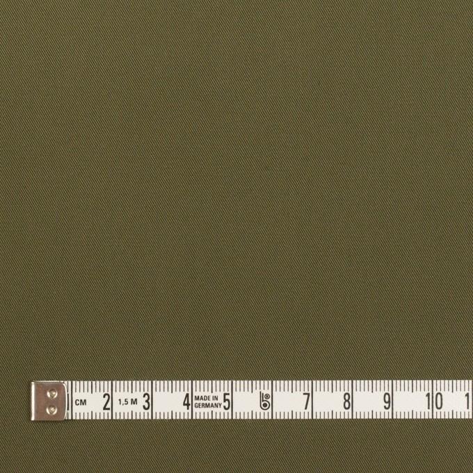コットン×無地(カーキグリーン)×ギャバジン イメージ4