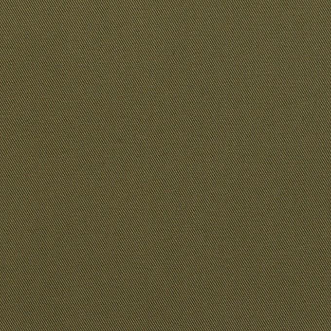 コットン×無地(カーキグリーン)×ギャバジン イメージ1