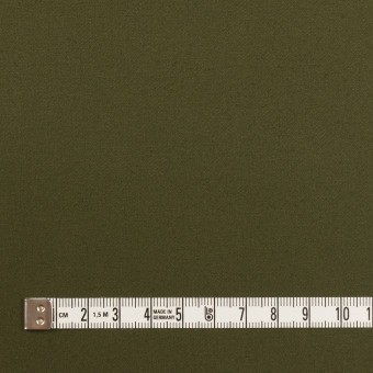 コットン×無地(カーキグリーン)×サテン サムネイル4