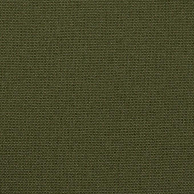 コットン×無地(カーキグリーン)×キャンバス イメージ1
