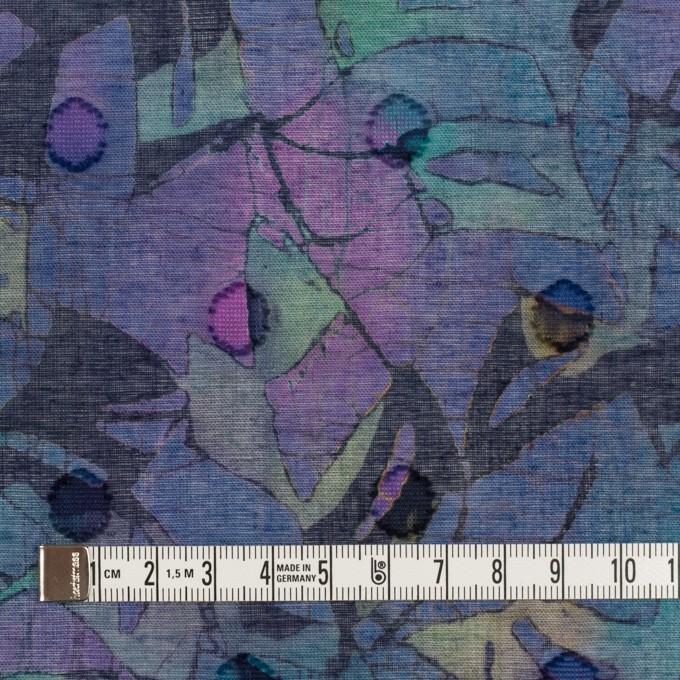 コットン×ペイント(バイオレット)×ボイルカットジャガード_全3色 イメージ4