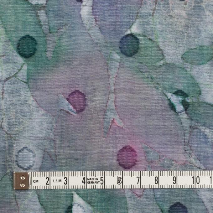 コットン×ペイント(グレイッシュパープル)×ボイルカットジャガード_全2色 イメージ4