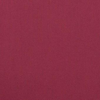 コットン&ポリエステル混×無地(オールドラズベリー)×サージストレッチ_全2色