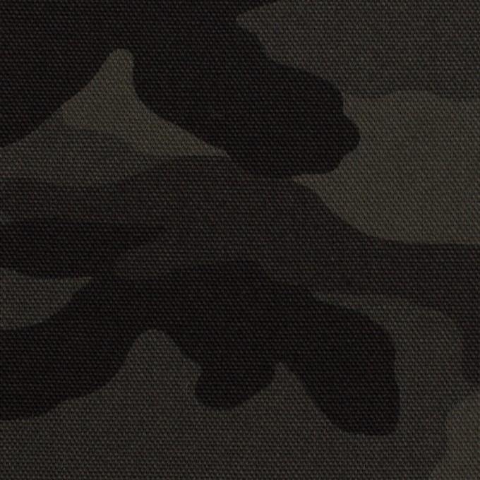 コットン×迷彩(チャコール)×キャンバス_全2色 イメージ1