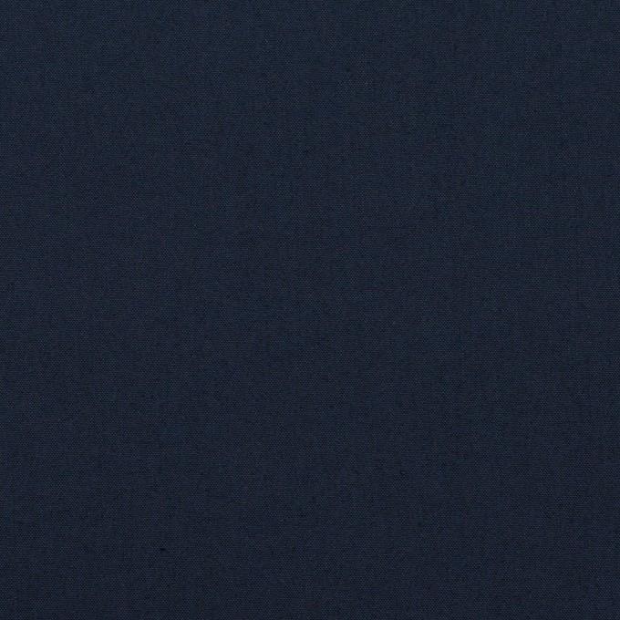 コットン&ポリエステル×無地(ネイビー)×ブロード イメージ1