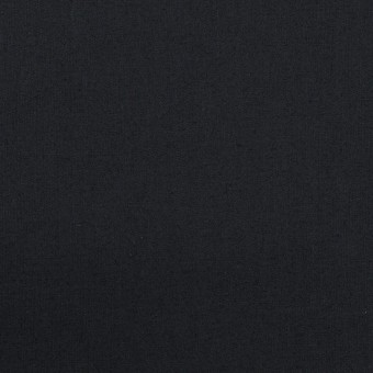 コットン&ポリウレタン×無地(ダークネイビー)×タイプライター(高密ローン)