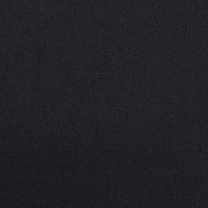 コットン&ポリウレタン×無地(ダークネイビー)×タイプライター(高密ローン) イメージ1