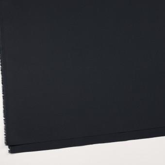 コットン&リヨセル×無地(ダークネイビー)×二重織ストレッチ サムネイル2