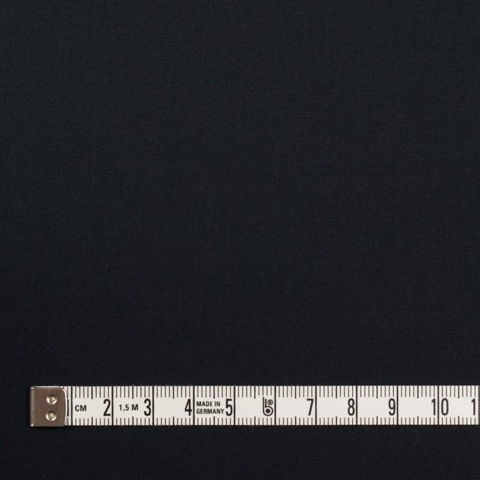コットン&リヨセル×無地(ダークネイビー)×二重織ストレッチ イメージ4