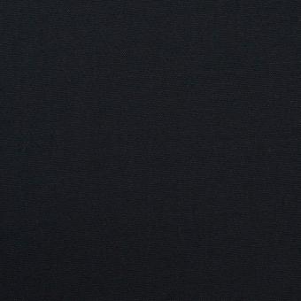 コットン&リヨセル×無地(ダークネイビー)×二重織ストレッチ