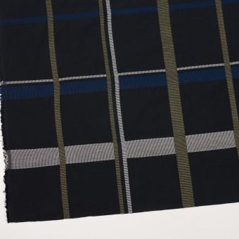 ポリエステル&コットン×チェック(ブルー)×ポプリンジャガード_全3色 サムネイル2