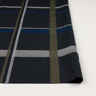 ポリエステル&コットン×チェック(ブルー)×ポプリンジャガード_全3色 サムネイル3