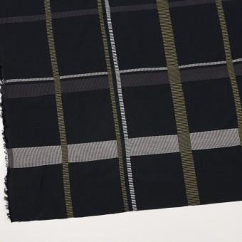 ポリエステル&コットン×チェック(ダブグレー)×ポプリンジャガード_全3色 サムネイル2