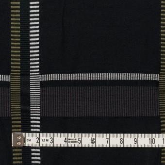 ポリエステル&コットン×チェック(ダブグレー)×ポプリンジャガード_全3色 サムネイル4