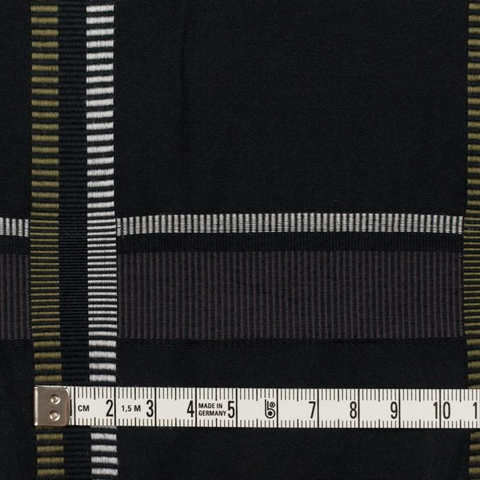 ポリエステル&コットン×チェック(ダブグレー)×ポプリンジャガード_全3色 イメージ4