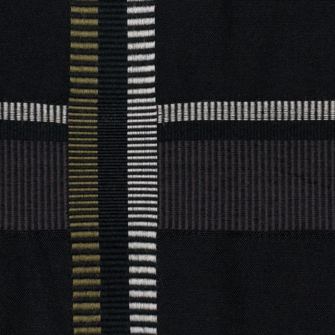 ポリエステル&コットン×チェック(ダブグレー)×ポプリンジャガード_全3色 イメージ1