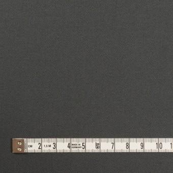 コットン&ポリウレタン×無地(チャコールグレー)×サテンストレッチ サムネイル4