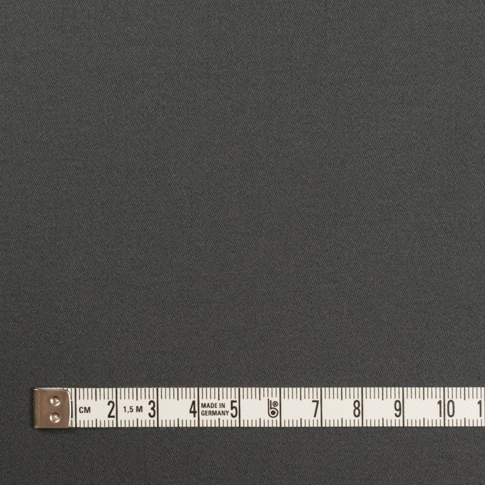 コットン&ポリウレタン×無地(チャコールグレー)×サテンストレッチ イメージ4