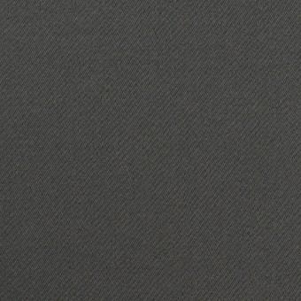 コットン&ポリウレタン×無地(チャコールグレー)×サテンストレッチ