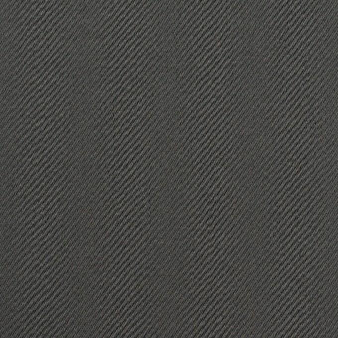 コットン&ポリウレタン×無地(チャコールグレー)×サテンストレッチ イメージ1