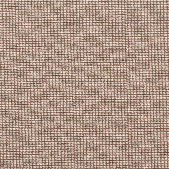 コットン&ポリウレタン×ペイント(モカ)×ブロードストレッチ イメージ1