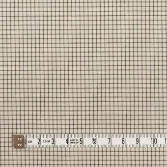コットン&ポリノジック×チェック(エクリュ&チャコール)×ブロード サムネイル4