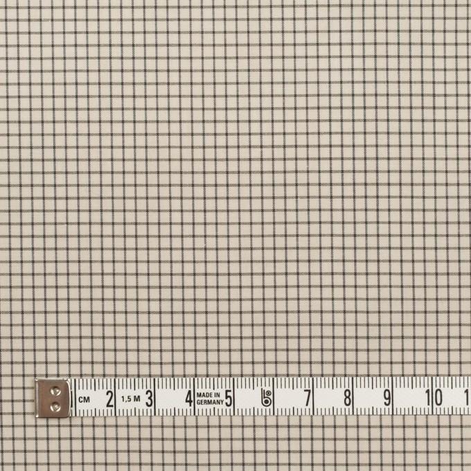 コットン&ポリノジック×チェック(エクリュ&チャコール)×ブロード イメージ4
