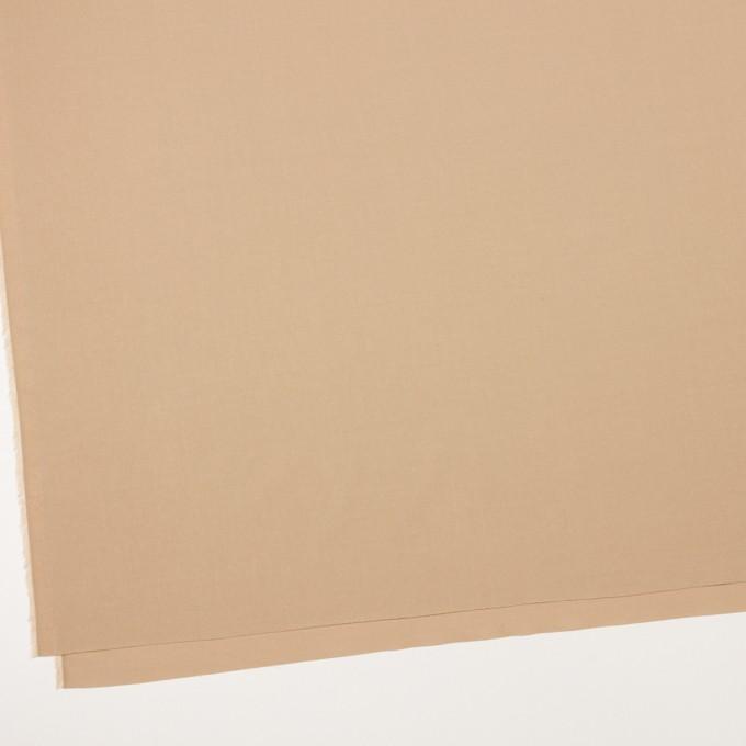 コットン&テンセル×無地(ベージュ)×ブロード イメージ2