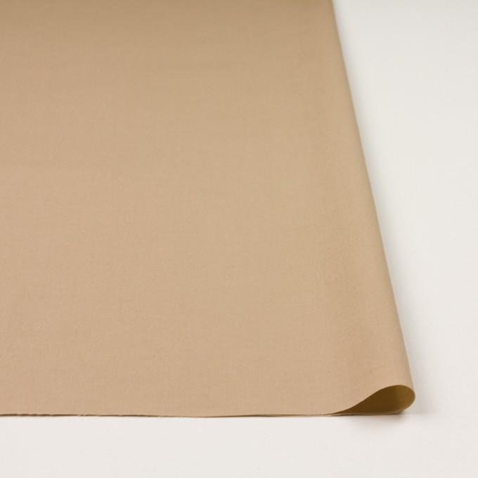 コットン&テンセル×無地(ベージュ)×ブロード イメージ3