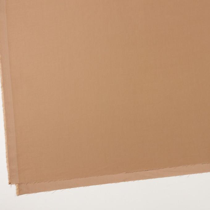 コットン&テンセル×無地(キャメル)×二重織 イメージ2
