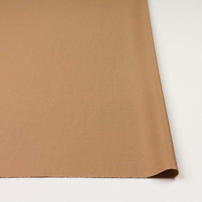 コットン&テンセル×無地(キャメル)×二重織 イメージ3