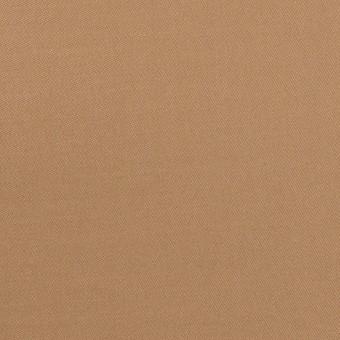 コットン&テンセル×無地(キャメル)×二重織