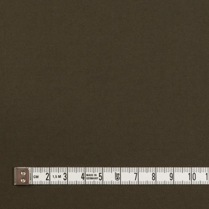 コットン×無地(ダークブラウン)×サテンワッシャー_全2色 イメージ4