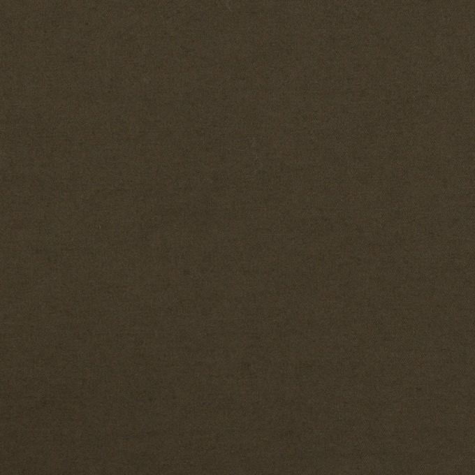 コットン×無地(ダークブラウン)×サテンワッシャー_全2色 イメージ1