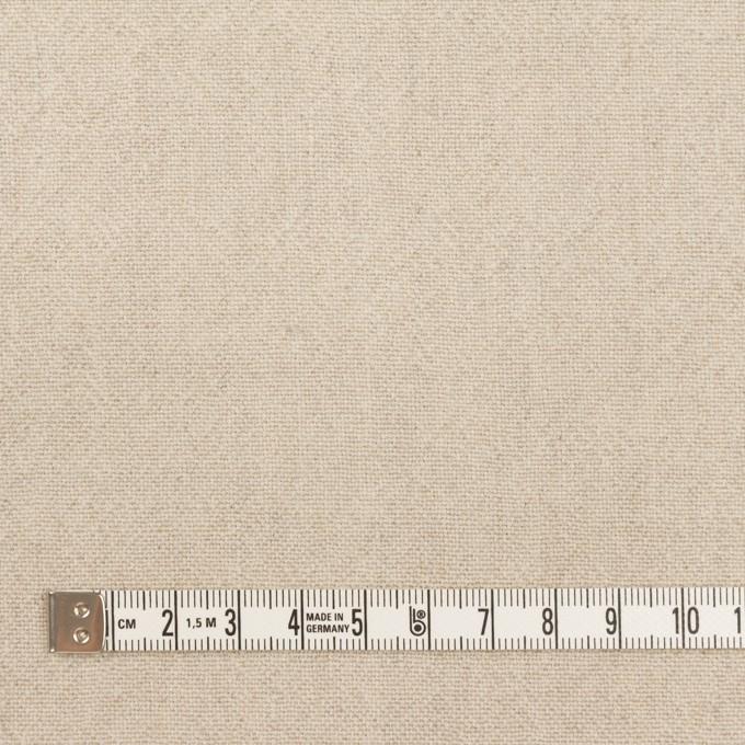 リネン&ウール×無地(グレイッシュベージュ)×キャンバス イメージ4