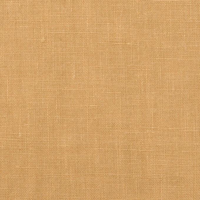 リネン×無地(カスタード)×薄キャンバス イメージ1