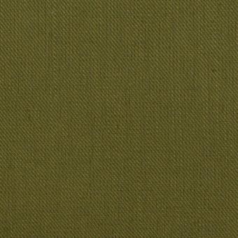 コットン&リネン×無地(カーキグリーン)×サージ サムネイル1